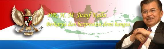 Website Pemenangan Pilpres 2009 Capres-Cawapres Jusuf Kalla-Wiranto