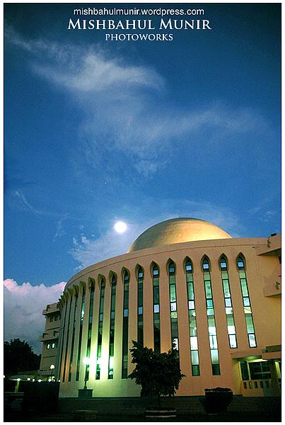 Foto Masjid (Foto Arsitektur Eksterior) Masjid Ulil Albab UII Jogja