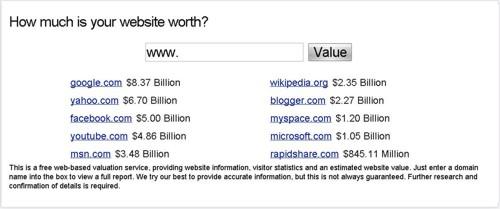 10 website termahal di dunia