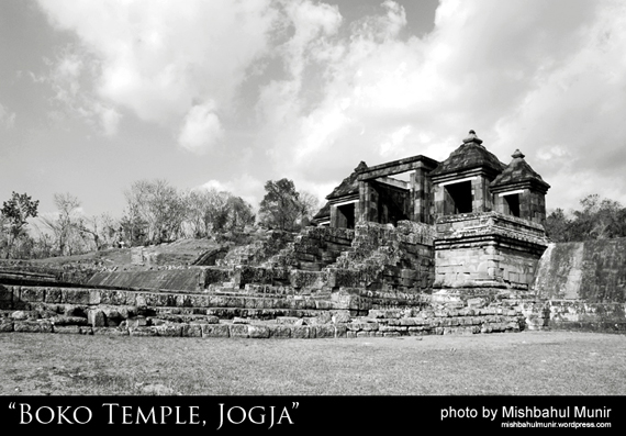 Candi Boko Temple by Misbah Fotografer Yogyakarta