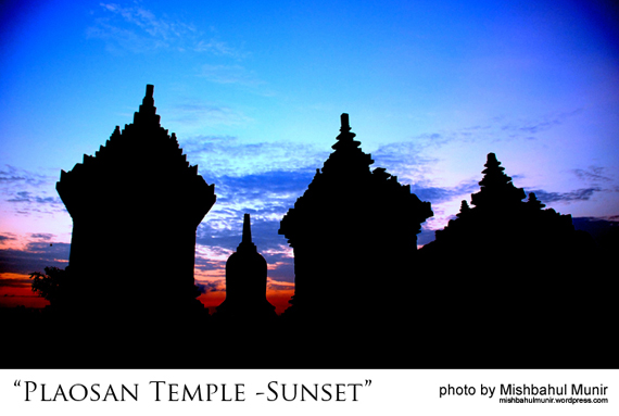Candi Plaosan Temple Sunset by Misbah Fotografer Jogja | Yogyakarta Photographer