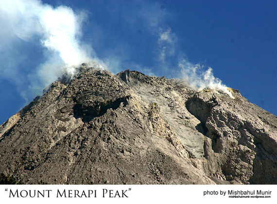 Puncak Merapi Mountain Merapi Peak by Misbah Fotografer Jogja