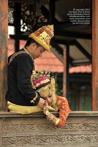 Foto Prewedding Baju Adat Pernikahan Pengantin Meulaboh Aceh Barat Photo by POETRAFOTO Photography Fotografer Yogyakarta Indonesia