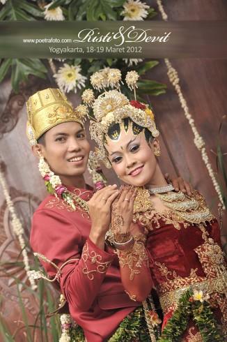 Foto Portrait Pernikahan dalam Risti & Devit Wedding Photo di Yogyakarta by POETRAFOTO Photography Jogja Indonesia