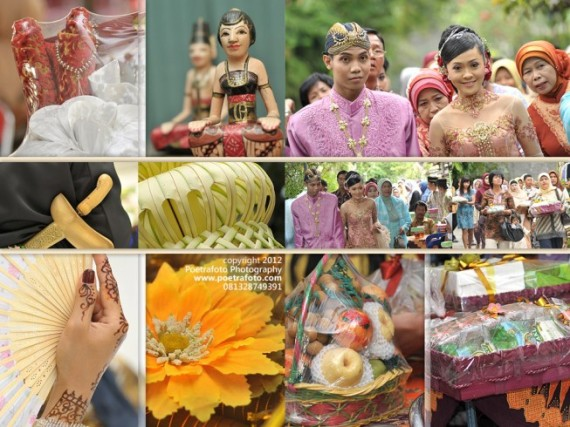 Contoh Kolase Album Foto Pernikahan Wedding Book Colase Risti & Devit by POETRAFOTO Photography Fotografer Yogyakarta Indonesia
