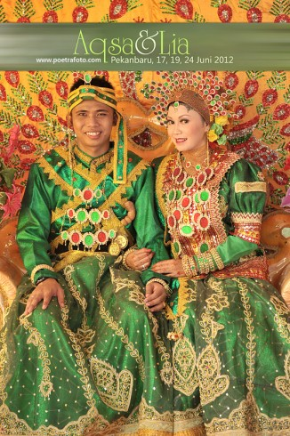 Foto Pernikahan Perkawinan Pengantin Adat Bugis Pekanbaru Riau