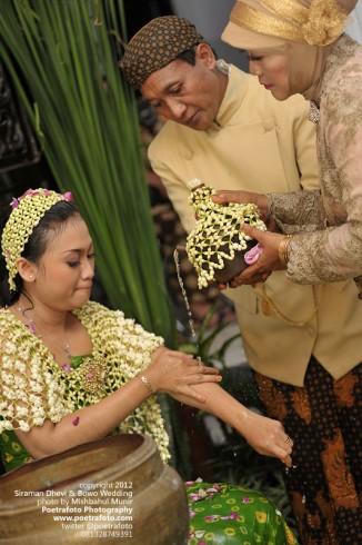 Foto Liputan Siraman Wedding Jawa Klaten Solo