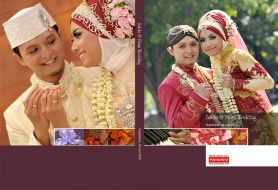 Fotografer Pernikahan Pre Wedding: Foto Album Kolase Wedding Book By Photographer Indonesia