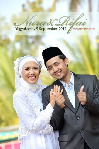 Foto Simple Portrait Wedding Photo by Poetrafoto Photography Yogyakarta Indonesian Photographer