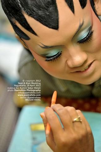 Foto Makeup oleh Perias Wedding di Jogjakarta Indonesia