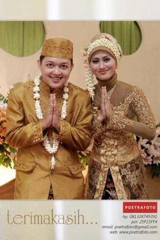 Foto Pernikahan IKA & ROKKY Wedding @ Magelang Jawa Tengah by POETRAFOTO Photograpy Yogyakarta Indonesia