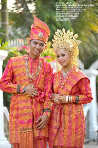 Foto Pernikahan Pengantin Bugis Wedding Aqsa Lia di Pekanbaru