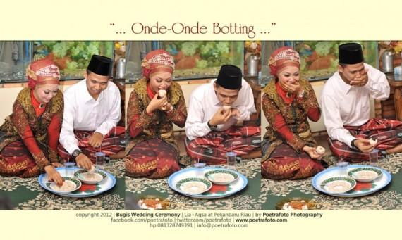 Foto Prosesi Pernikahan Pengantin Bugis dalam Wedding Aqsa & Lia di Pekanbaru Riau