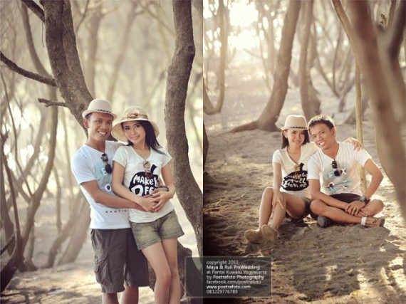 Foto Pre Wedding Outdoor Casual for Ruli+Maya by Poetrafoto Photography Fotografer Pre Wedding Fotografer Yogyakarta