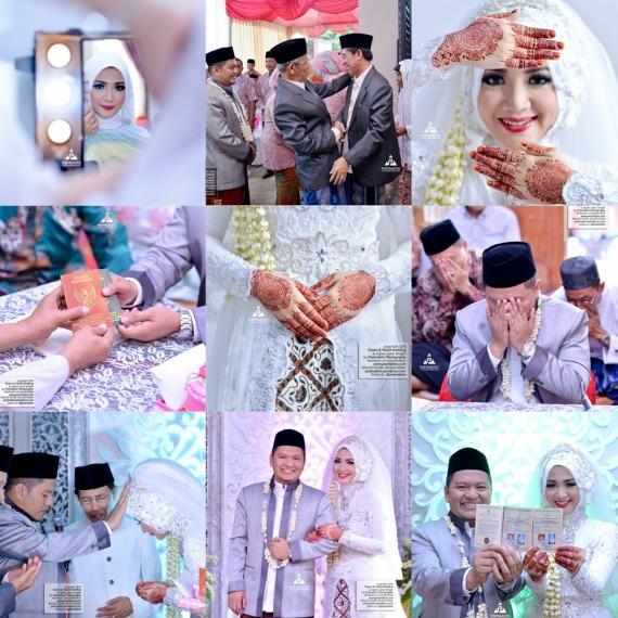 Foto Wedding Pengantin Muslim-Muslimah Hijab Pernikahan Jepara Tiyara+Muzid by Poetrafoto Fotografer Wedding Pernikahan Jepara Kudus Pati Rembang