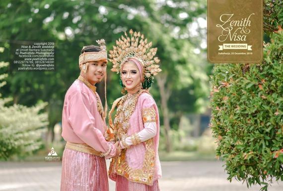 Sukoharjo Wedding Photographer di Pernikahan Adat Bugis Pengantin Baju Bodo Hijab Muslim Zenith+Nisa